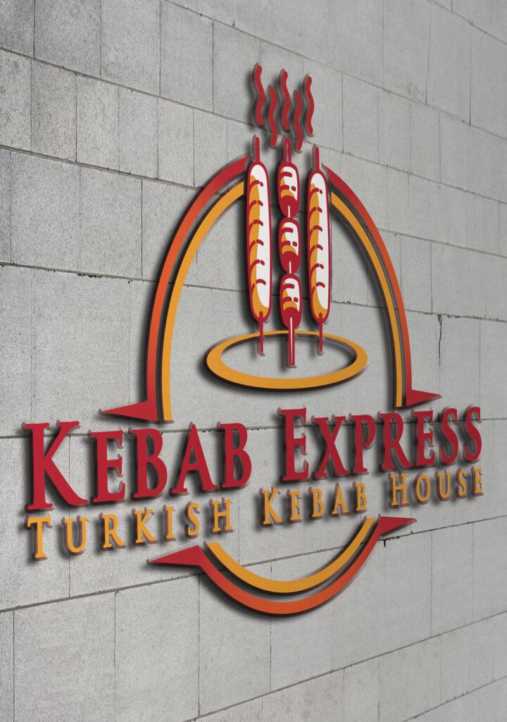 Kebap Logo Wall
